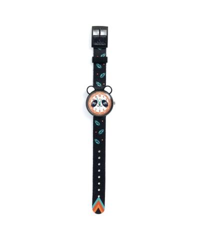 Wijs west Djeco Djeco Horloge Panda 3070900004283 Djeco21Mei Kleding & Accessoires Accessoires Horloges
