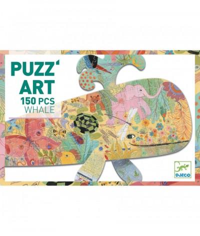 Wijs west Djeco Djeco Puzzel Walvis 150 pcs 3070900076587 Djeco2021Mei Speelgoed & Spellen Puzzels