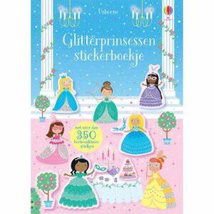 Glitterprinsessen stickerboekje