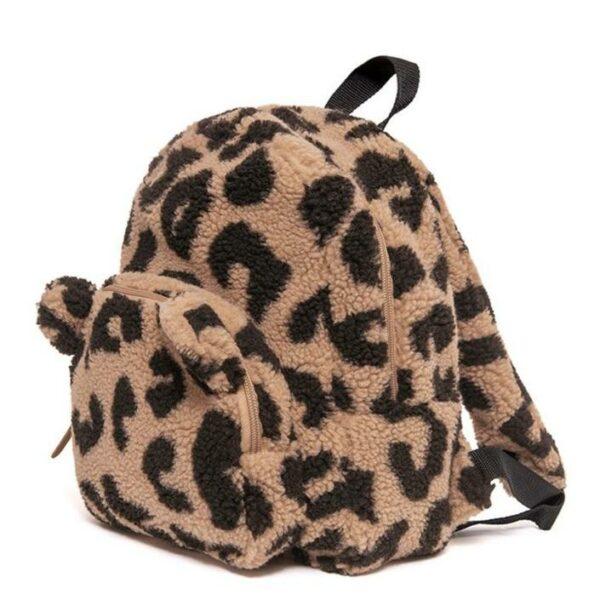 Petit Monkey Kinderrugzak Teddy Leopard
