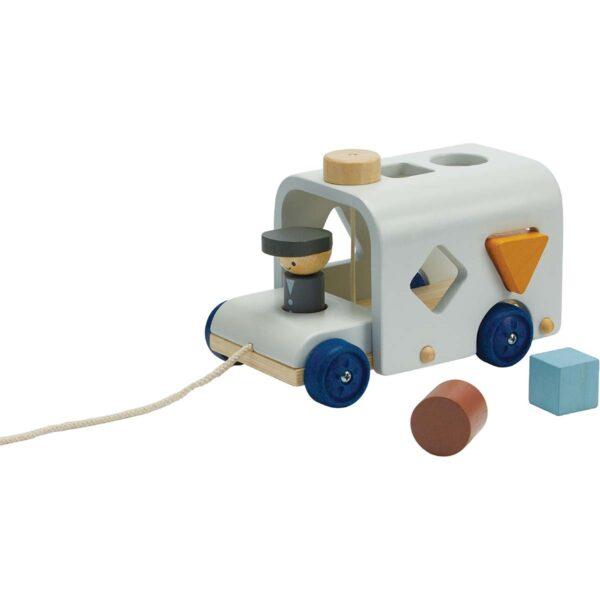 Plan Toys sorteerbus