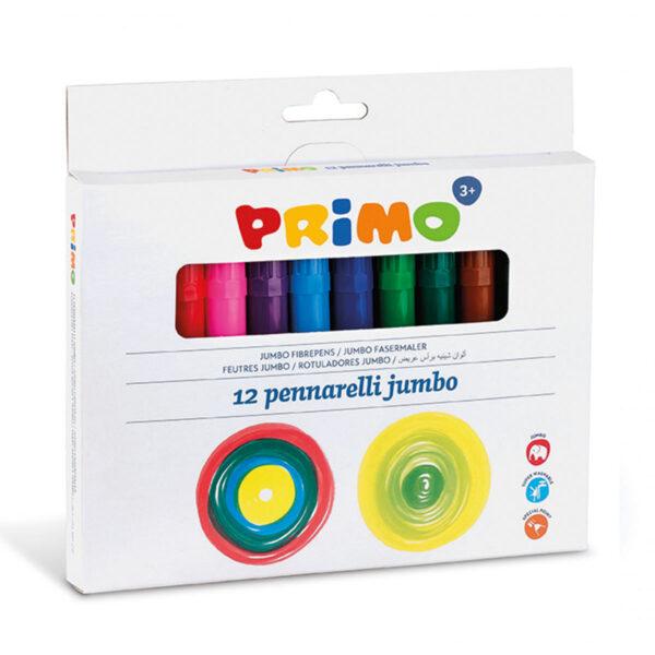 Primo 12 Jumbo viltstiften (fiber punt)