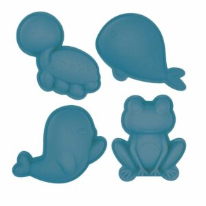 Scrunch Zandvormpjes Grijsblauw