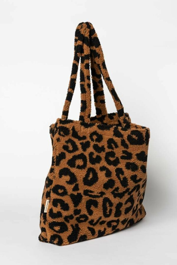 Studio Noos Teddy Leopard Brown Mom-bag