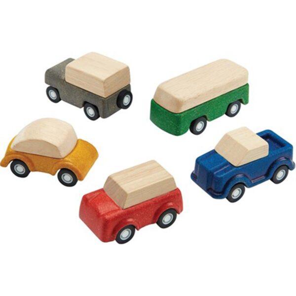 Plan Toys Plan World Auto's set