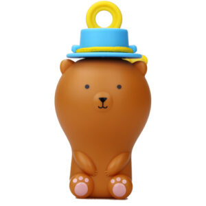 Uncle Bubble - Fun Anti-Spill Pals - Brown Bear