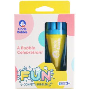 Uncle Bubble - Fun Confetti Bubbler