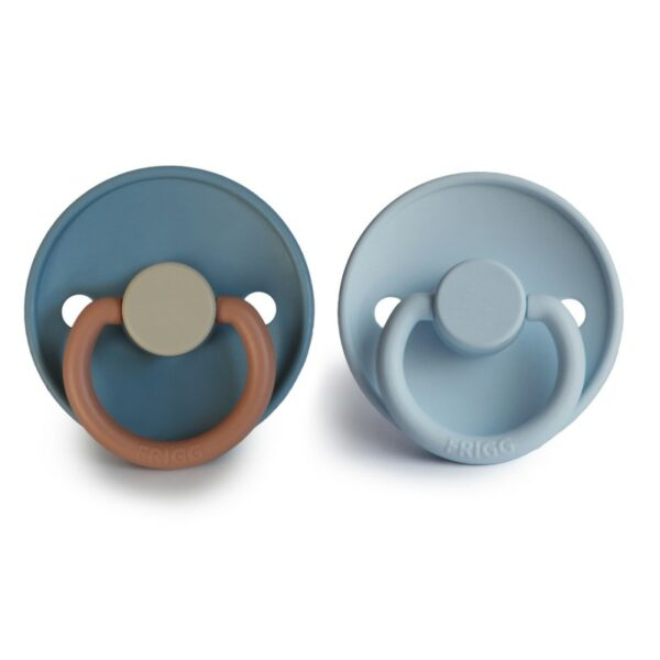 FRIGG 2-pack Siliconen - Breeze/ Baby Blue T1