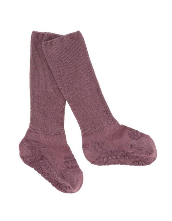 GoBabyGo Bamboo socks - Misty Plum
