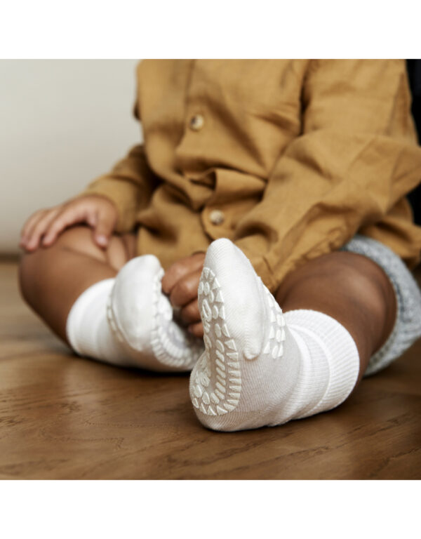 GoBabyGo Bamboo socks - Off White