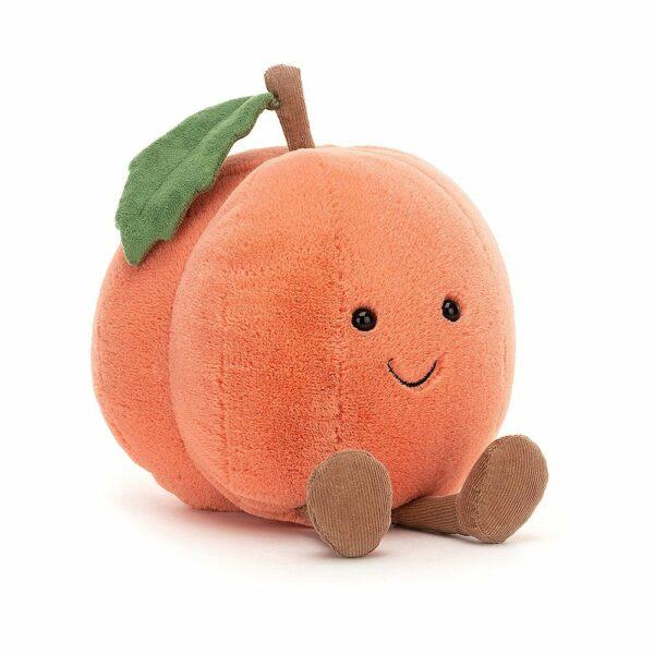 Wijs west Jellycat Jelly Cat Amuseable Peach - 15cm 670983130096 Juli21 Jellycat Speelgoed & Spellen Knuffels