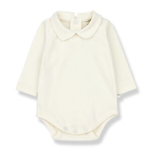 Wijs west 1+ in the Family 1+ In The Family Anette Ecru 8448212000890 +1FamilyAw21 Kleding & Accessoires Baby Rompers