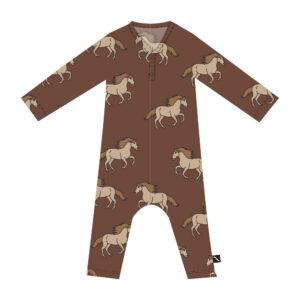 Wijs west CarlijnQ CarlijnQ Wild Horse - Jumpsuit Longsleeves/Legs 8720528501118 AW21Carlijn Kleding & Accessoires Jumpsuits & Overalls