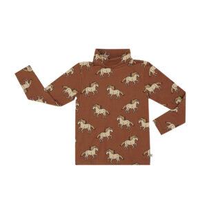 Wijs west CarlijnQ CarlijnQ Wild Horse - Turtleneck 8720528500739 AW21Carlijn Kleding & Accessoires Shirts