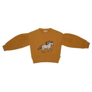 Wijs west CarlijnQ CarlijnQ Wild Horse - Girls Sweater 8720528500388 AW21Carlijn Kleding & Accessoires Sweaters & Truien