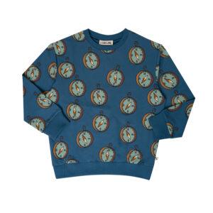 Wijs west CarlijnQ CarlijnQ Compass - Sweater 8720289673277 AW21Carlijn Kleding & Accessoires Sweaters & Truien