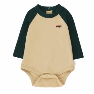 Wijs west Tiny Cottons Tiny Cottons Tiny Ant Color Block Body 8434525223675 AW21Tiny Kleding & Accessoires Baby Rompers