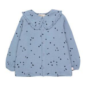 Wijs west Tiny Cottons Tiny Cottons Sky Shirt 8434525215335 AW21Tiny Kleding & Accessoires Shirts Longsleeves