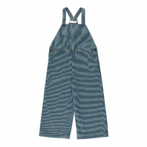 Wijs west Tiny Cottons Tiny Cottons Stripes Denim Dungaree 8434525217643 AW21Tiny Kleding & Accessoires Baby Rompers