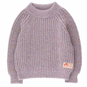 Wijs west Tiny Cottons Tiny Cottons Multicolor Mockneck Sweater 8434525219258 AW21Tiny Kleding & Accessoires Sweaters & Truien