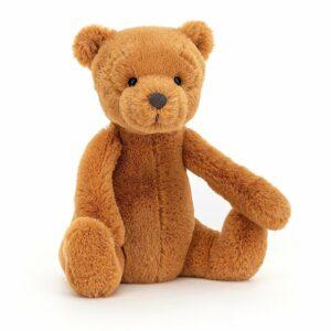 Wijs west Jellycat Jelly Cat Ginger Bear Small - 17cm 670983129762 Juli21 Jellycat Speelgoed & Spellen Knuffels