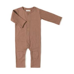 Wijs west Nixnut Nixnut Butt Onesie Jam Stripe 8720604434057 AW21Nixnut Kleding & Accessoires Baby Rompers