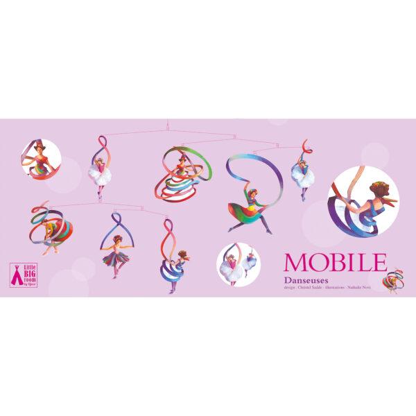 Wijs west Djeco Mobiles papier Danseuses - FSC MIX 3070900043275 Juli21 Djeco Speelgoed & Spellen Babyspeelgoed