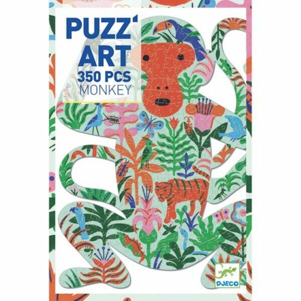 Wijs west Djeco Puzz'Art Monkey - 350 pcs 3070900076570 Juli21 Djeco Speelgoed & Spellen Puzzels