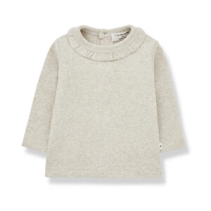 Wijs west 1+ in the Family 1+ In The Family Elia Alabaster 8448212009275 +1FamilyAw21 Kleding & Accessoires Baby Shirts