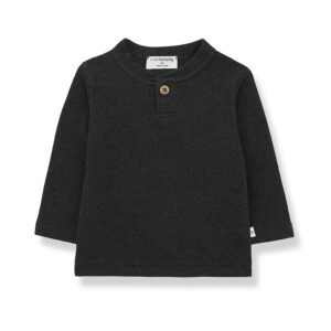 Wijs west 1+ in the Family 1+ In The Family Elmo Charcoal 8448212008827 +1FamilyAw21 Kleding & Accessoires Baby Shirts