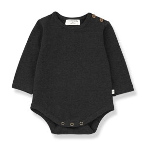 Wijs west 1+ in the Family 1+ In The Family Enric Charcoal 8448212010912 +1FamilyAw21 Kleding & Accessoires Baby Rompers
