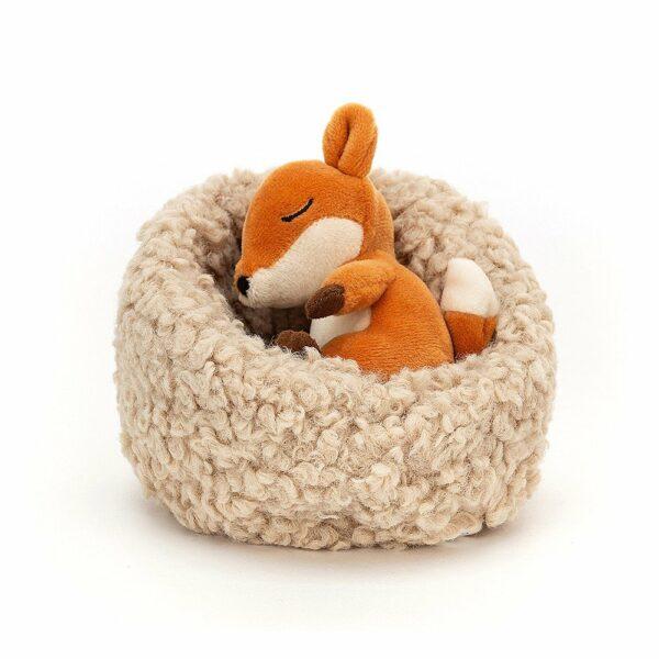 Wijs west Jellycat Jelly Cat Hibernating Fox - 7cm 670983131093 Juli21 Jellycat Speelgoed & Spellen Knuffels