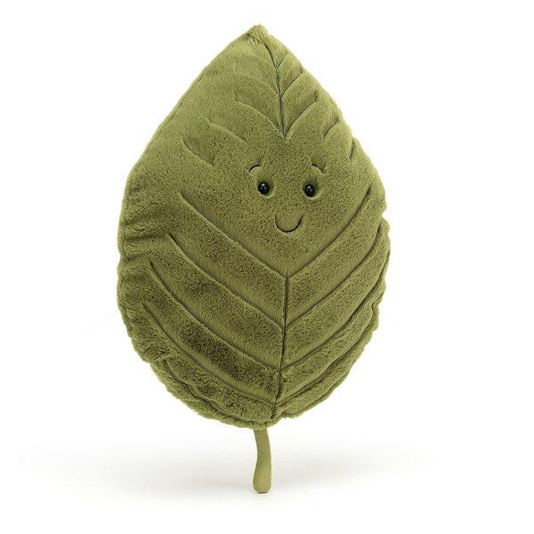 Wijs west Jellycat Jelly Cat Woodland Beech Leaf Little - 20cm 670983128871 Juli21 Jellycat Speelgoed & Spellen Knuffels