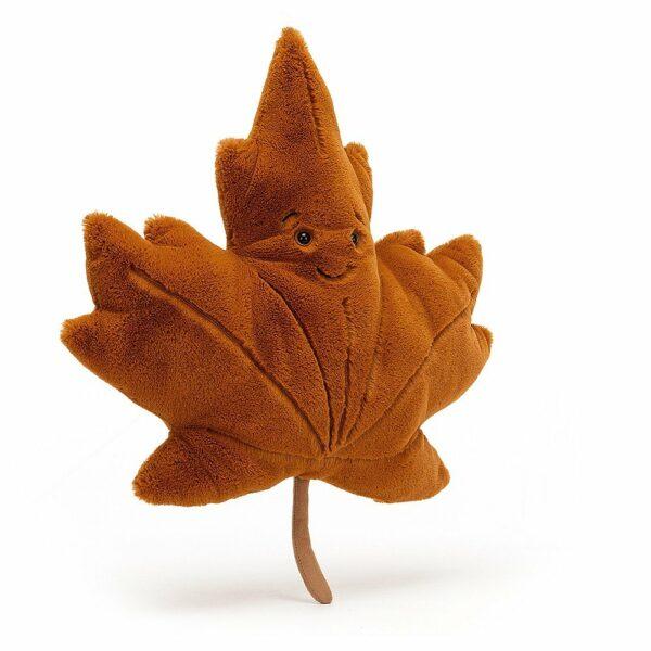 Wijs west Jellycat Jelly Cat Woodland Maple Leaf Little - 21cm 670983128888 Juli21 Jellycat Speelgoed & Spellen Knuffels