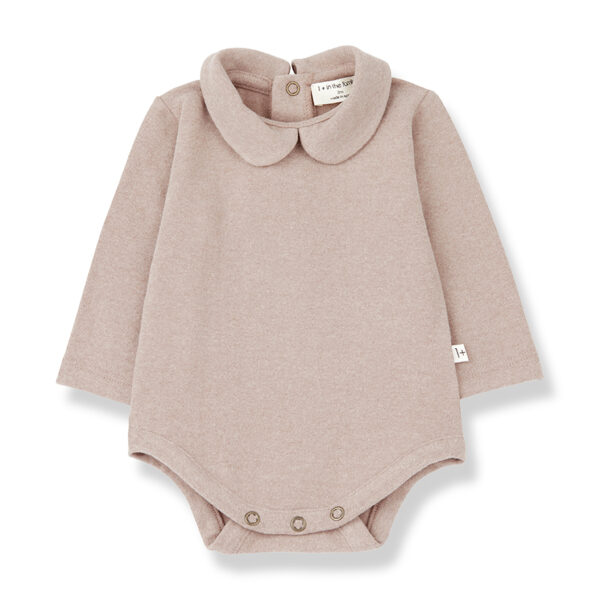 Wijs west 1+ in the Family 1+ In The Family Lourdes Rose 8448212011056 +1FamilyAw21 Kleding & Accessoires Baby Rompers
