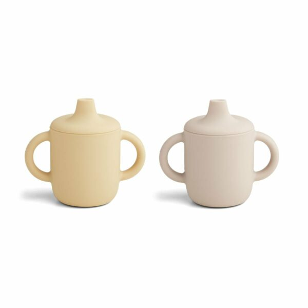Liewood Neil Cup 2- pack Sandy wheat yellow mix