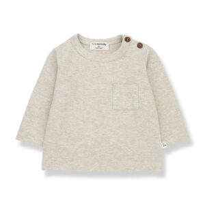 Wijs west 1+ in the Family 1+ In The Family Oriol Alabaster 8448212011872 +1FamilyAw21 Kleding & Accessoires Baby Shirts
