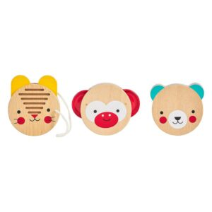 Animal Friends Wooden Musical Percussion Set