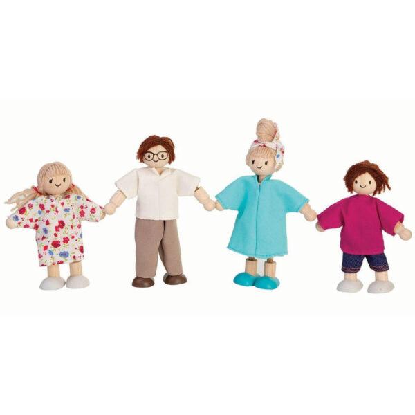Plan Toys Houten Poppenfamilie