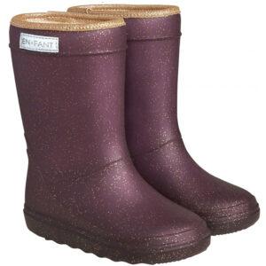 Enfant Thermo Boots Glitter Vineyard Wine wijs west