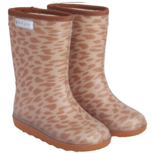 Enfant Thermo Boots Luipaard Print Leather Brown