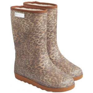 Enfant Thermo Boots Luipaard Print Sand Wijswest