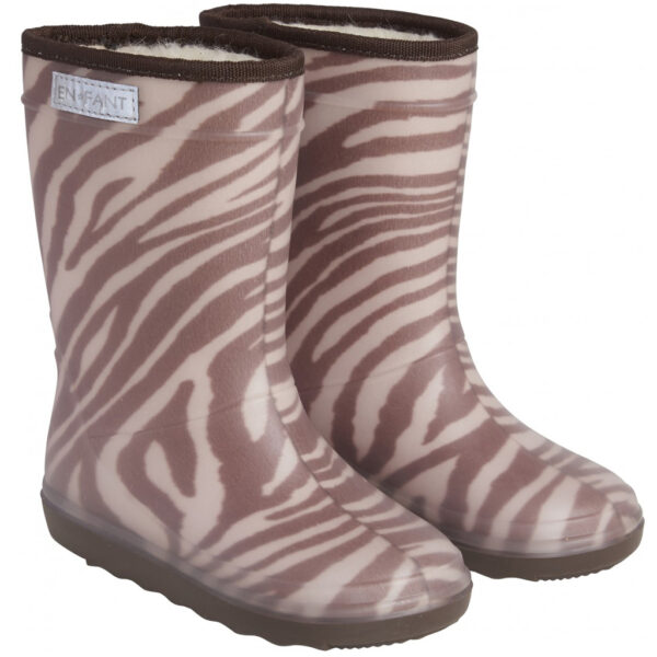Enfant Thermo Boots Print Zebra