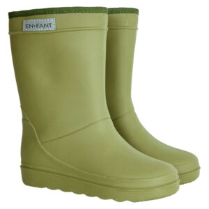 Enfant Thermo Boots Solid Dusty Olive