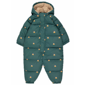 Wijs west Tiny Cottons Tiny Cottons Dogs Padded Overall 8434525220155 AW21Tiny Kleding & Accessoires Baby Rompers
