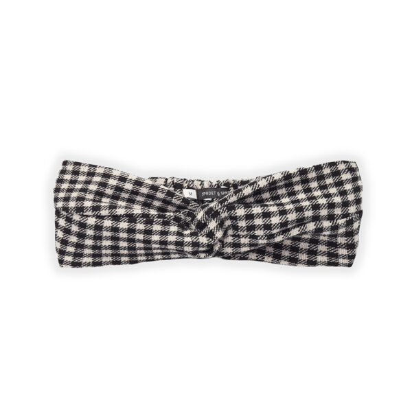 Wijs west Sproet & Sprout Sproet & Sprout Turban Headband Block Check 1138187071045