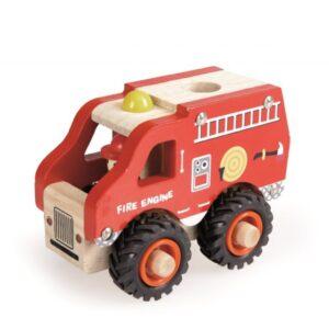 Brandweerwagen Hout