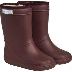 Enfant Thermo Boots Solid Vineyard Wine