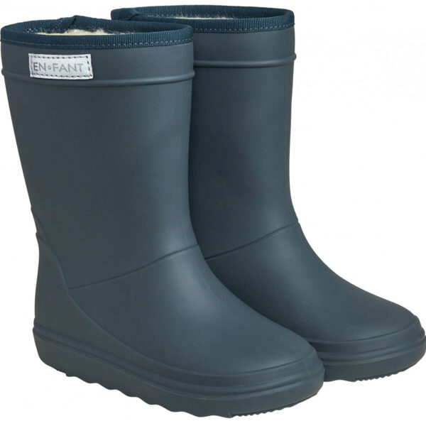 Enfant Thermo Boots Solid Dark Slate