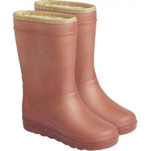 Enfant Thermo Boots Glitter Metallic Rose